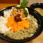 味暦あんべ - 料理写真:親がに丼(かに汁・香の物付・3500円)