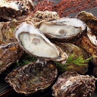 旬の牡蠣が満腹☆食べ放題