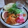 オステリア チリエージョ - 料理写真:ランチセットのサラダとパン