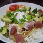 ハワイアンカフェ フラ・ラ 2 - 料理写真:アヒポキ~☆