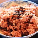 茶房 たんぽぽ - 玄米ご飯