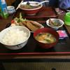ゑびすや食堂 - 料理写真:黒はんぺんフライ定食の全容