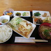 森のキッチン - 料理写真:日替わりランチ600円。