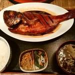 45650638 - 【2015.12.19(土)】金目鯛の黒潮煮定食@2,980円→@1,980円
