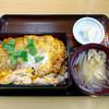 やぶ㐂 - 料理写真:かつ丼上