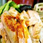 天竜 - 美味しいチャーシューに辣油がけ、赤星には最適!!
