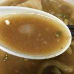 蓮爾 - 【2015.12.7】乳化スープにしょうゆのカエシで堪らなく美味い‼︎