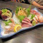 さかなの台所 オリエンタル - 料理写真:刺し盛り2015.12.19