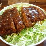 キッチンフライパン - ースかつ丼 ロース