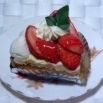 菓子工房 菓子の音 - イチゴのタルト