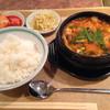 焼肉明成館 - 料理写真:純豆腐チゲ850円