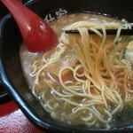 倉敷らーめん 升家 - 玉子麺