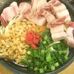 さくら亭 - 黒豚お好み焼き1350円
