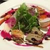 ラ ロテュス - 料理写真:冷たいオードブル。レバーのパテや新鮮なお魚、美味しいサラダなど。