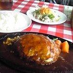 ダディーズハンバーグ - チーズハンバーグ750円