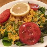 ステーキハウス アパッチ - サラダ