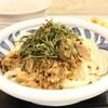はなまる屋 - 料理写真:肉つけ麺 うどん 630円。ちくわ天 110円。