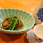 新藤 - トコブシ煮