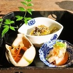 天風 - 地鶏膳 2,500円