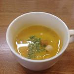 ひらき亭 - カボチャスープ