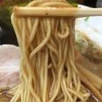 麺屋 むら田 - 中細ストレート麵