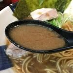 麺屋 むら田 - スープはこってり選択