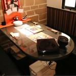 ワイン食堂 ビストロQ - くつろげるボックス席