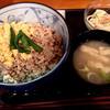 どんつき - 料理写真:鶏そぼろ丼600円