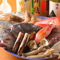 長崎・幸の浦、全国各地より取り寄せた鮮魚