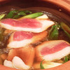 蕎麦きり はるきや - 料理写真:鴨鍋