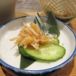 ぶち - 鮫軟骨 梅肉和え