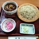 穣庵 - 鴨南蛮付け蕎麦1850円