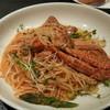 クサマ - 料理写真:蟹のトマトクリームソースパスタ