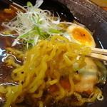 麺's 菜ヶ蔵 - 麺アップ