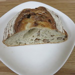 ブーランジェリー ヤマシタ - 落花生パン