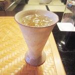 かみむら - ドリンク写真:梅酒の食前酒