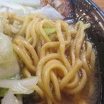 拉通 - 麺は太目