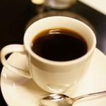 カフェ・ド・ランブル - 2015.12 ブレンドコーヒー カフェ・クレーム 普通カップ ミルク付き(ダブル900円)