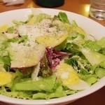 ワイン食堂 ホオバール - 山盛りサラダ
