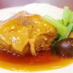台湾料理 台湾 - 角煮定食
