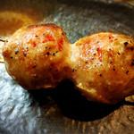 焼鶏 炭吉 - 肉巻トマト ジューシーです!