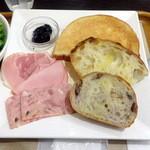 サンドッグイン神戸屋 - モーニングセットA540円
