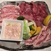 焼肉菜包 朴然 - 料理写真:人気塩4種盛り、2598円です。