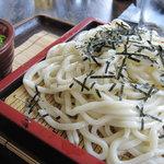 竹屋 - ざるうどん