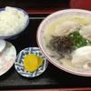 龍宝軒 - 料理写真:ラーメン=520円 めし 小=140円