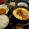 味軒 - 料理写真:鍋焼きナポリタンセット820円