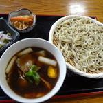 山居 - 鴨そば(つけ汁)