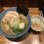 樹真 - 【淡麗 特選しおそば…980円】♫2015/12