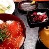 沖縄料理 舞天 - 料理写真:ランチのマグロ丼セツト