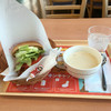 モスバーガー - 料理写真:BLT クラムチャウダーに変更 ¥480